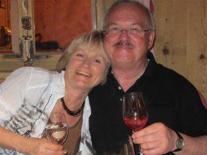Unsere Gastgeber Hans und Mary